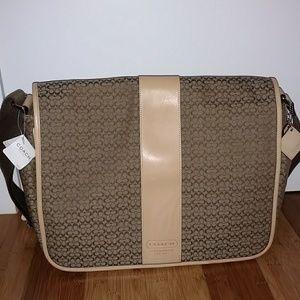 New Coach Messenger Bag